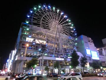 名古屋栄の観覧車普通の写真