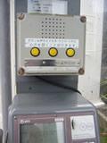 公衆電話のボイス装置