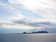 本州最西端毘沙の鼻からの風景