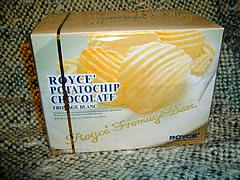 ホワイトチョコポテチ