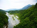 日野鷺橋から見た荒川