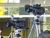 GPファイナルで大活躍テレビ朝日のカメラたち(笑)